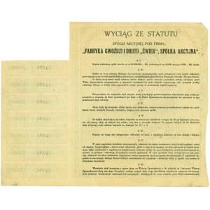 Fabryka Gwoździ i Drutu ĆWIEK, 10x10.000 marek 1921