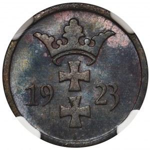 Wolne Miasto Gdańsk - 2 fenigi 1923 - NGC MS66 BN