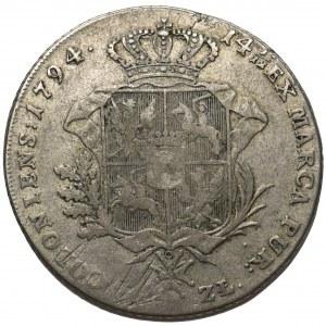Poniatowski, Talar 6 złotowy 1794 Warszawa