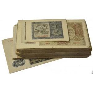 Zestaw - Banknoty okupacyjne ( ok. 310 szt.)