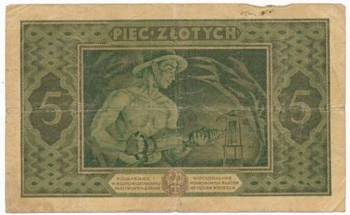 5 złotych 1926 -H-