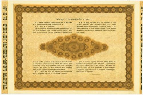 Towarzystwo Handlowo-Przemysłowe Józef Zeydler, 5x500 marek 1921
