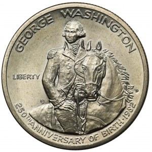 USA 1/2 dolara 1982 San Francisco - 250. Rocznica urodzin Jerzego Washingtona