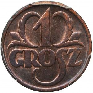 1 grosz 1939 - PCGS MS63 RB