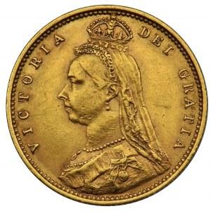 Australia - Królowa Wiktoria - 1/2 suwerena 1893