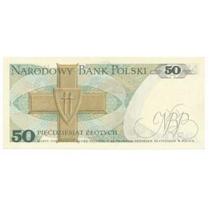 50 złotych 1975 -A- rzadka pierwsza seria