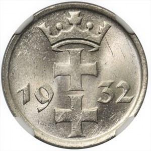 Wolne Miasto Gdańsk - 1 gulden 1932 - NGC MS62