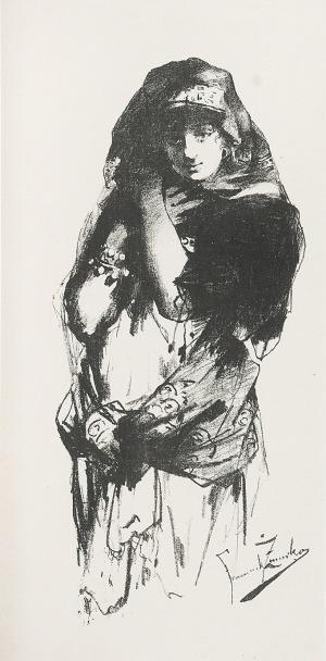 Franciszek ŻMURKO (1859-1910) - według, Tancerka