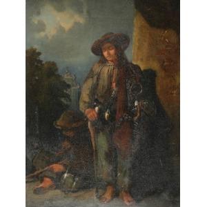 Franciszek KOSTRZEWSKI (1826-1911), Druciarze, 1858