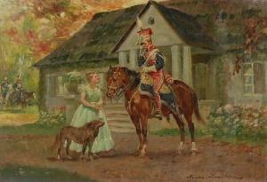 Marian NOWICKI (1904-po1939), Pożegnanie ułana