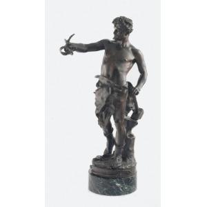 Claudius MARIOTON (1844-1919), Le Travail - Alegoria pracy
