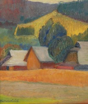 Roman SIELSKI (1903-1990), Pejzaż podgórski