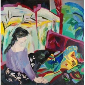 Danuta WESTRYCH (1955-2014), Dumanie, 1987
