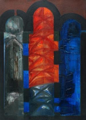 Romuald ORAMUS (ur.1953), Katedra XXIII: Z nieba i z Ziemi, 2009/10