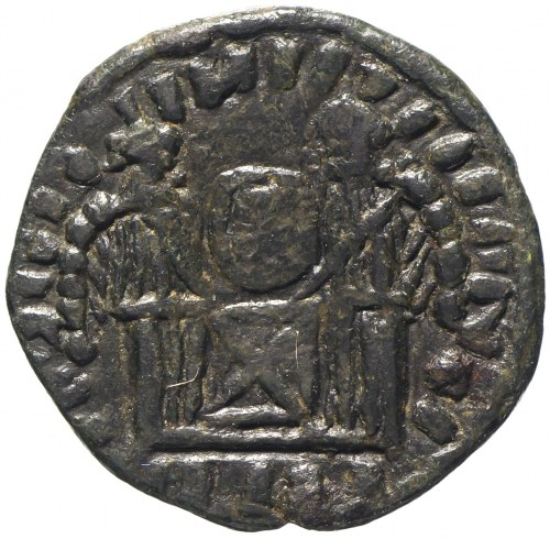 Barbaricum, naśladownictwo follisa Konstantyna Wielkiego