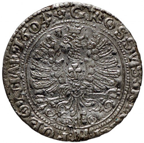 Zygmunt III Waza, Grosz 1604 Kraków