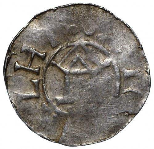 Niemcy, Otton i Adelajda, Denar 983-991