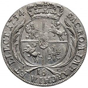 August III Sas, Ort 1754 Lipsk