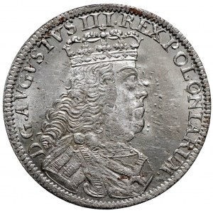 August III Sas, Szóstak 1753 Lipsk - Sz