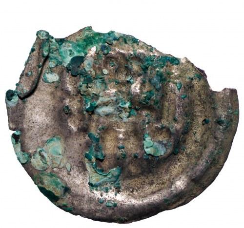 Brandenburgia (?), Brakteat guziczkowy II połowa XII wieku