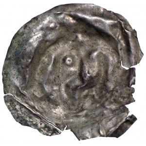 Brakteat guziczkowy II połowa XII wieku - naśladownictwo(?)