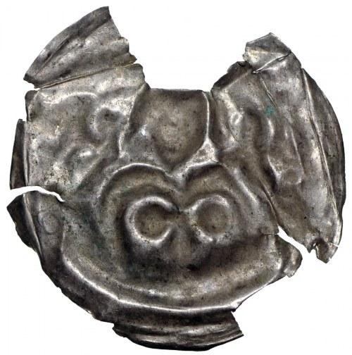 Brandenburgia, Brakteat guziczkowy II połowa XII wieku