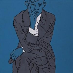 Marcin Lenczowski, Niebieski #1 /Blue boy/, 2011