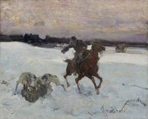 Wierusz-Kowalski Alfred, ZIMOWE POLOWANIE Z CHARTAMI, PO 1900