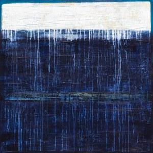 Iwona Delińska, Blue, 2017