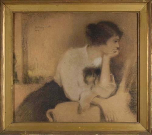 Karpiński Alfons (1875-1961) Anielka