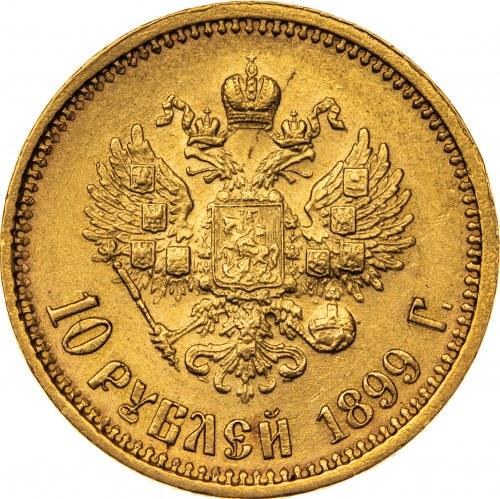 10 rubli 1899, ФЗ, Rosja, Au 900, 8,64 g
