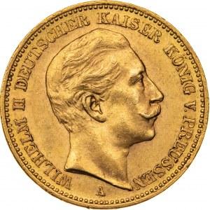 20 marek 1905, A-Berlin, Niemcy, Au 900, 7,98 g