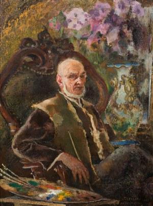 Kazimierz Sichulski, Autoportret, 1940