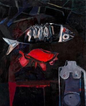 Teresa Pągowska, Czerwona muszla II, 1956
