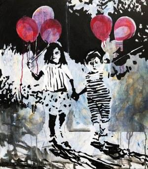 Bartek Pszon, Dzieci z balonikami, 2018