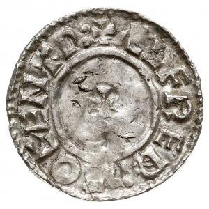 denar typu last small cross, 1009-1017, mennica Canterb...