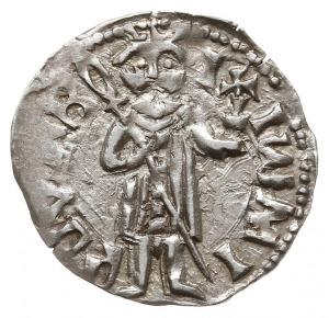 ducati (półgrosz), typ bizantyjski, Aw: Postać Mircei...