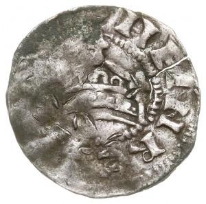 denar, Aw: Korona, Rw: Napis w formie krzyża ARGENTINA,...