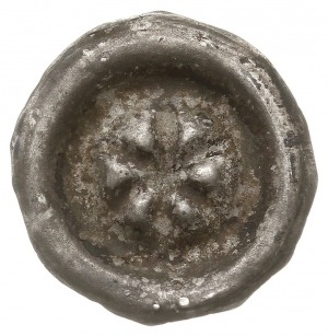 Stargard, brakteat XIV w., Sześcioramienna gwiazda, Dbg...