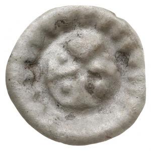 Wołogoszcz, brakteat XIII/XIV w., Dwa skrzyżowane klucz...