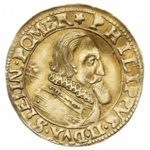 goldgulden okolicznościowy 1618, Szczecin, Aw: Popiersi...