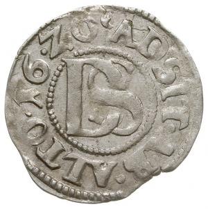 podwójny szeląg 1620, Szczecin, odmiana z rogami obfito...