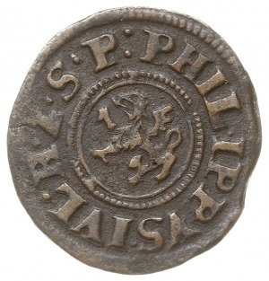 6 fenigów 1622, Nowopole (Franzburg), Hildisch 227, pat...