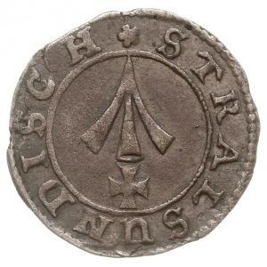 1/48 talara (szyling) 1681, Strzałów, AAJ 86, ciemna pa...