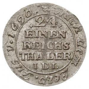 1/24 talara (grosz), 1763, Strzałów, AAJ 261b, ładny z ...