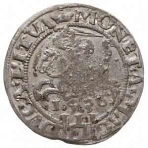 grosz 1536, Wilno, odmiana z litera F pod Pogonią, Ivan...