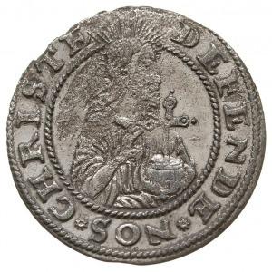 """grosz oblężniczy 1577, Gdańsk, odmiana bez """"kawki"""", gro..."""