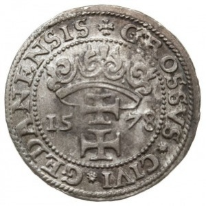 grosz 1578, Gdańsk, CNG 129, Gum.H. 789, Kop. 7432 (R2)...