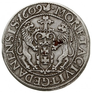 ort 1609, Gdańsk, kropka za łapą niedźwiedzia, Shatalin...