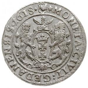 ort 1618, Gdańsk, odmiana z listkiem klonowym, Shatalin...